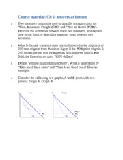 3333 Econ ch 6 homework with answers