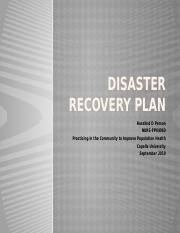 Disaster Recovery Plan.pptx
