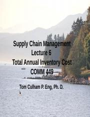 Lecture 6 Annual Inventory Cost Calculation.pptx