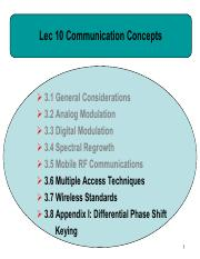 Lec10- Communication concepts 2