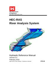 HEC-RAS 5.0 Reference Manual