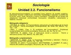 El Funcionalismo Estructural De Robert Merton 47 Anomia Y