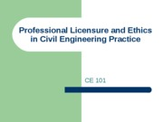 lec6 ethics and professional licensure
