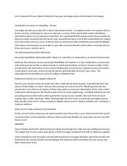 research paper ifsm 201