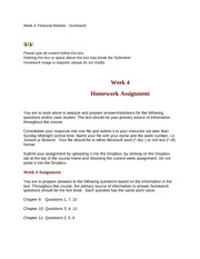 assignment wk5 Acc-497 week 2 learning team c case study assignment wk5 k12e_smch06complete acc-422 learning team d week 4 & 5 reflection acc-421 week 1 accounting cycle paper acc 422 p9-9 acc-423 learning team b week 2 textbook problems.