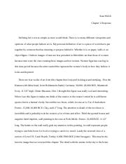 Art Hisotry Chapter 1 paper