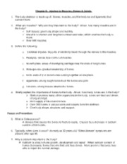 injuries to muscles, bones, and joints update worksheet answers