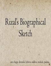 Rizals-Biographical-Sketch