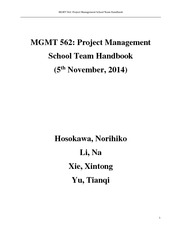 PM team handbook finalized version-revised by Lena20141104