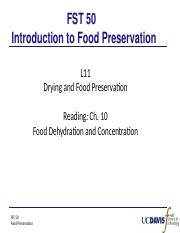 L11s_Drying and Food Preservation