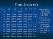 Think Break 11