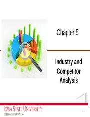 Chapter 5_Industry and competitor analysis._ncpptx