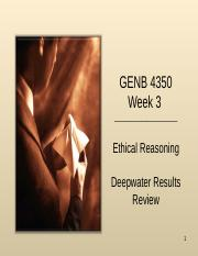 Week 3 Ethical Reasoning Student.ppt