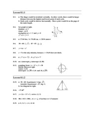 algebra homework answers