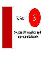 Session 3 Sources of innovation and innovation networks (student)(2)