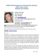 Management 405 -Winter 2014 - Syllabus (1).pdf