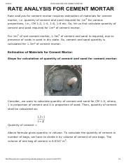 RATE ANALYSIS FOR CEMENT MORTAR.pdf