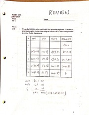 MATH1095, Final Review 2 & Answers