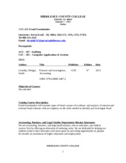 Fraud ACC 221 Summer 1 2015 Syllabus 5.15.15 (2)
