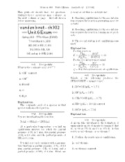 Unit 6 Exam-solutions