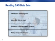 Reading SAS Data Sets