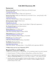 Fall 2014 Syllabus