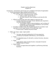 Chapter 40 learning objectives