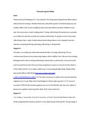 persuasive speech topic gadget title the use of cell phone  4 pages persuasive speech outline