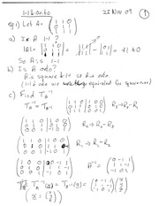 MATH 20610 Fall 2009 Textbook Examples 2 Solutions