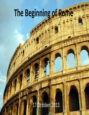 01 Beginnings of Rome