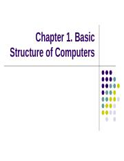 chapter 1 -Basic Structure of Computers.ppt