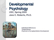 Individ Differences Phys Early Child