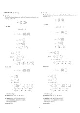 Homework 16 Solution Winter 2008 on Ordinary Differential Equations