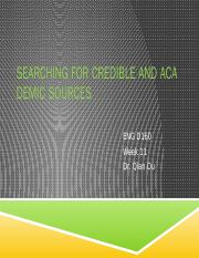 T-Searching for Credible and Academic Sources (2)
