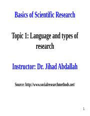 Topic 1_ Language and types of research.ppt