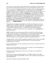 As stated in paragraph A20213 an AF Form 1466 processed in support ...