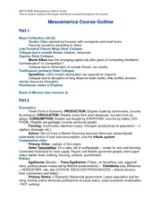 ANTH 0536 COURSE OUTLINE