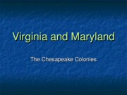 2 Virginia and Maryland