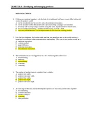 1003MKT_Week 8_Homework Answers_Chapter 9_0314