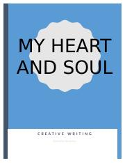 Creating Writing Portfolio My Heart and Soul.docx