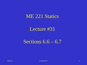 Lecture 31 sect 6.6