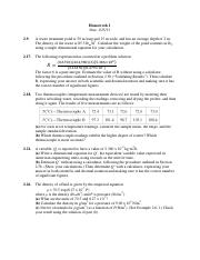 CHE HW 5 - Homework 5 Due 4.39 Acetylene is hydrogenated to form ...
