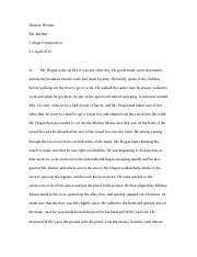 Steinbeck's Story;Process Section.docx