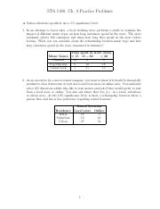 STA 1380 - Fall 15 - Ch. 8 Practice Problems