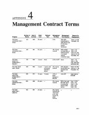 Hotel Investments Handbook - ManagementContractTerms