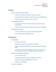 Capter 11 outline