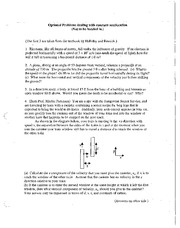 optional problems in constant acceleration