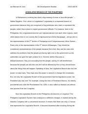 Legislative Branch in the Philippines Final Paper (Political Science 11).docx