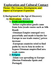 Am Hist 1 - Outline 1 - Age of Discovery(1).docx