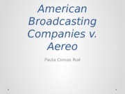 American Broadcasting Companies v